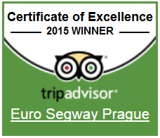 Euro Segway Prague - Certificate of Excellence 2015