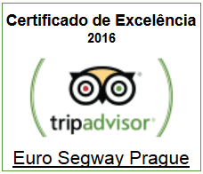 Euro Segway Prague - Certificate of Excellence 2016