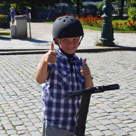 Kids loves segway!