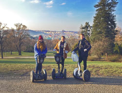 2 hour segway tour Prague image