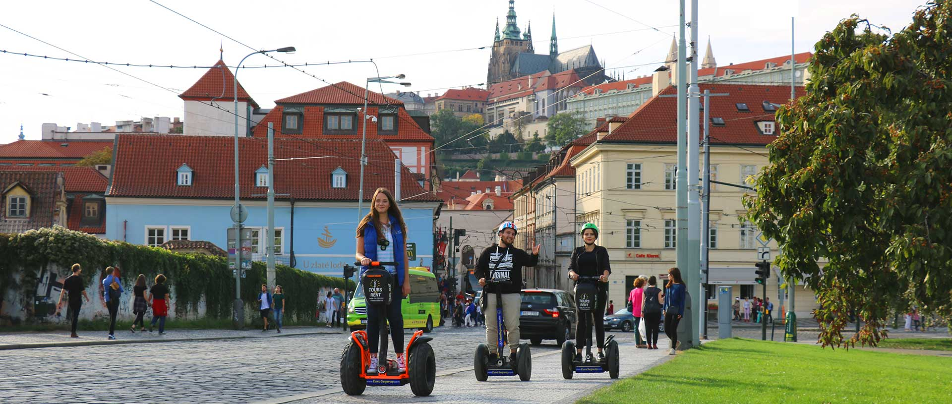 All segway and e-scooter tours in Prague