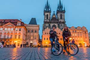 Grand tour of Prague