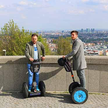 Srakchov viewpoint on Prague segway fun route