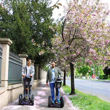 Old Stresovice quarter - segway fun in Prague