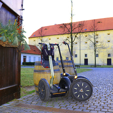 Brevnov monastery tour on segway