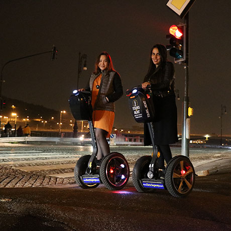 Night segway tour in Prague