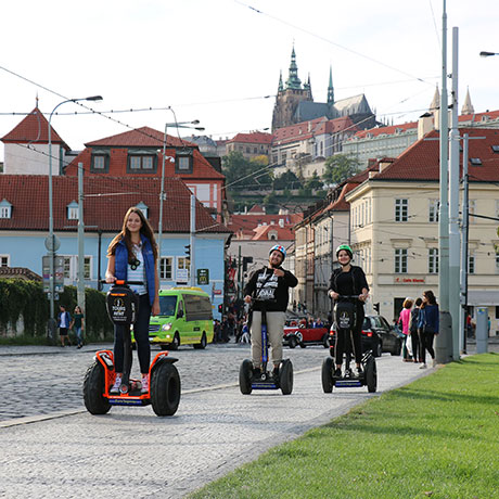 Segway tour on Mala Strana