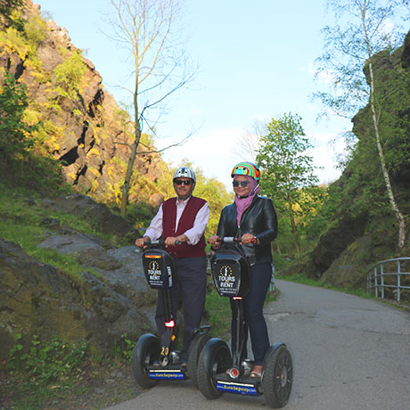 Segway tour on Prague Canyon - Divoka Sharka - Euro Segway