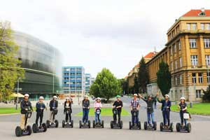 Urban segway tour in Prague