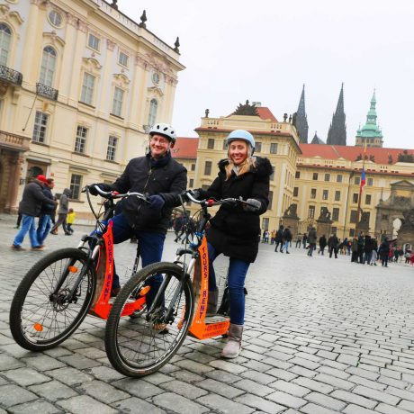 e-scooter Tour in Prague